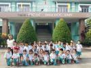 Các bé lớp lá đi tham quan trường tiểu học Ngyễn Hiền